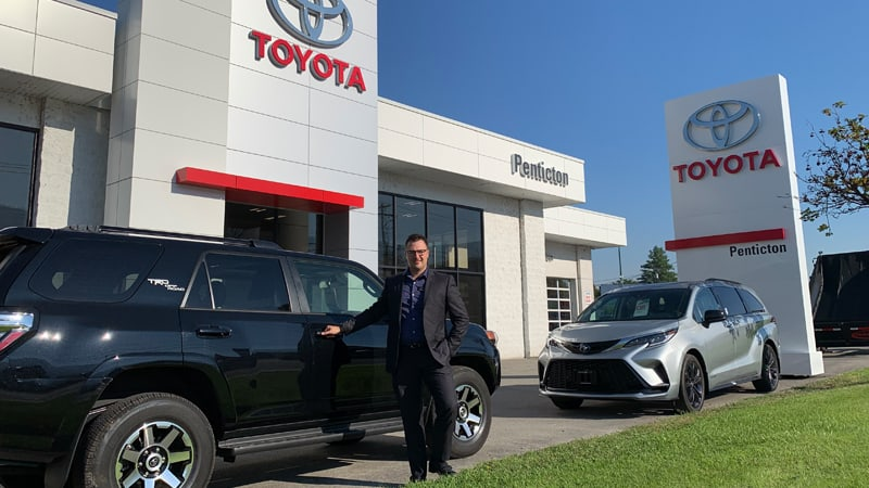 Penticton Toyota General Manager Larry Pidperyhora Jr in The Canadian Business Quarterly